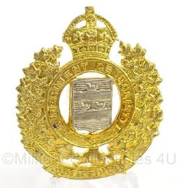 WO2 Canadees baret of pet insigne Reserve Force Regiment - afmeting 4 x 4,5 cm - origineel