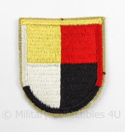 US Army Special Forces baret insigne 3rd SFGA flash patch - afmeting 5 x 6 cm - origineel
