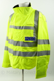 Britse Politie Police Community Support Officer jacket lightweight High Visability - nieuw - Large Short - origineel