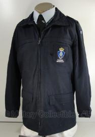 KMAR Marechaussee uniform parka  - donkerblauw - MET insignes - meerdere maten - origineel