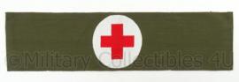 Rode kruis armband - omkeerbaar - afmeting 46,5 x 12 cm - origineel