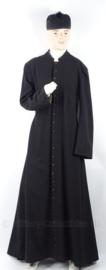 Uniform set Geestelijke, jas en hoed - maat Medium- origineel