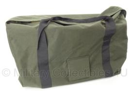 KLU Luchtmacht tas vlieger groot 55 x 4- x 30 cm. - voor bijv. de m90 slaapzak - groen - origineel