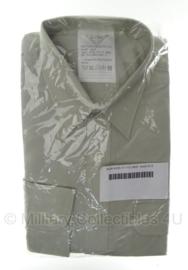 KL DT2000 Overhemd Nederlands leger lichtgroen - lange mouw - nieuw in verpakking - meerdere maten - origineel