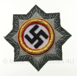 Duits Kruis in stof - goud