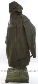 KL landmacht NBC M78  jas en broek - anti-gas pak -  groen - Maat 'Midden' - origineel