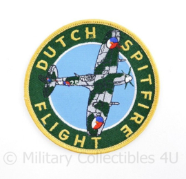 Dutch Spitfire flight embleem - diameter 10,5 cm - origineel