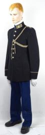 """Uniform set GLT gala Militaire Academie Breda met zeldzaam jasje, broek en koord -  met originele schouder insignes """"vliegtuig maker"""" - maat 51 - origineel"""