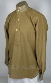 Brits wool shirt - meerdere maten - Britse size  40, 42 of 44 - replica WO2