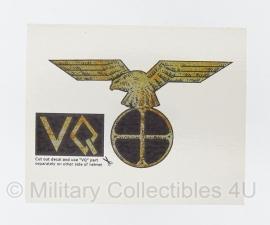 SS Noorse SS Legioen Vidkun Quisling decal - VQ003