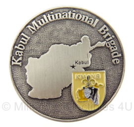 ISAF Coin Kabul Multinational Brigade KNMB - in doosje - origineel