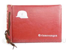 WO2 Duitse Wehrmacht leeg fotoalbum met Stahlhelm - 26 x 19  cm - origineel