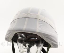 Wit sneeuw Helmovertrek  (zonder helm) - origineel