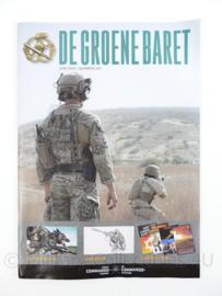 Korps Commandotroepen  tijdschrift de groene baret juni 2020 - origineel