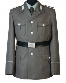 DDR Uniform jas grof wol - wo2 model - origineel