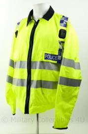 Britse Politie jacket lightweigt High Visability  met portofoon houders - nieuw - XLarge regular  - origineel