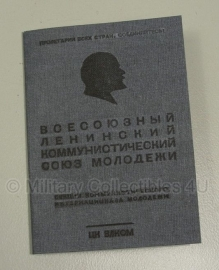 Russische WO2 Komsomol lidmaatschaps pas