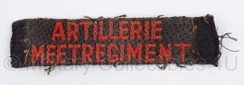 Artillerie Meetregiment embleem MVO  - 1951/1953 - origineel