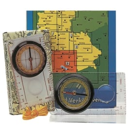 Kaartkompas met beschermkap lichtgewicht - Origineel