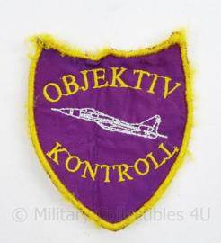 Hongaarse Leger Luchtmacht patch OBJEKTIV KONTROLL  - 9 x 7,5 cm - origineel