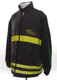 Italiaanse Brandweer jas afritsbare mouwen - Vigili Del Fuoco - Extra Large - origineel