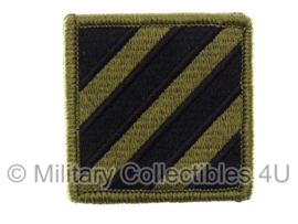US Army OCP SSI patch - 3rd Infantry Division - met klittenband - voor multicamo uniform - origineel