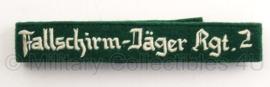 Cufftitle Fallschirm - Jäger Regiment 2