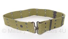 Pistol belt khaki - origineel WO2 US Army