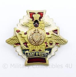 Russische leger Transport Soldier Honor Badge  - 5,5 x  5 cm - origineel