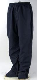 Donkerblauwe Nederlandse Overheid regenbroek - topkwaliteit - ongedragen - maat XL - origineel