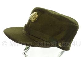 WAC (vrouwen) manschappen pet OD - replica wo2 - 55 tm. 60 cm
