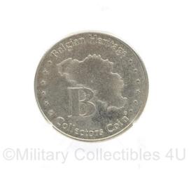 Canada war museum coin 1940 1945  - diameter 3 cm - origineel