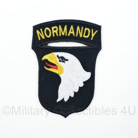 "WO2 US Army 101st Airborne Division ""Normandy"" patch - 8,4 x 6 cm"