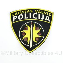 Latvijas Valsts Policija  Letland politie embleem - 10 x 9,5 cm - origineel