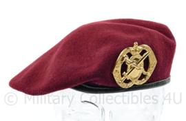 Defensie baret LUMBL Luchtmobiele Brigade Geneeskundige dienst 1993 Hassing - maat 60 - origineel