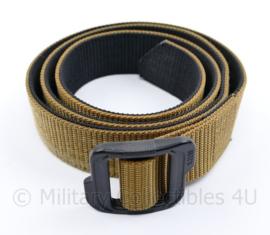 Defensie 5.11 Double Duty belt black Coyote - licht gebruikt - 133 x 3,5 cm - origineel