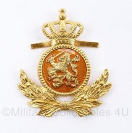 KL Landmacht onderofficier DT pet insigne - mist 1 pin - 5 x 4,5 cm - origineel