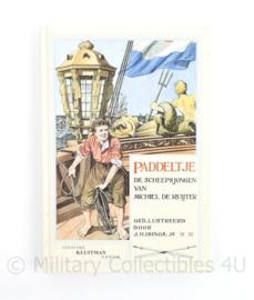Paddeltje De scheepsjongen van Michiel de Ruyter - jeugdboek - origineel 10-12 jaar