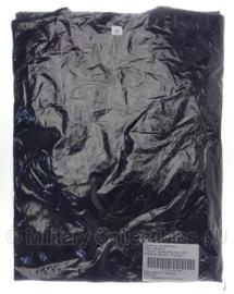 KMAR Koninklijke Marechaussee shirt blauw met zwarte biezen - nieuw in verpakking - korte mouw - maat XL - origineel