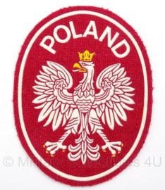 Poolse embleem Poland - 11 x 8 cm - origineel