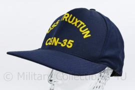 USN US Navy USS Truxtun CGN 35 bemanning cap - one size - ongedragen - origineel