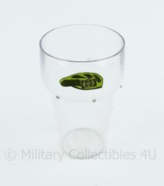 KCT Korps Commando Troepen kunststof glas - 11 x 7 cm - origineel