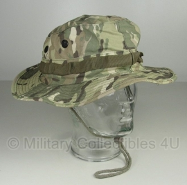Boonie hat / Bush hat - Luxe model Ripstop - DTC / Multi camo - Fosco - S of XL