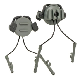 MICH FAST helm Koptelefoon bevestigingsset (zonder koptelefoons) - COYOTE