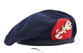 Korps Mariniers baret met insigne - huidig model - maat M = 57 cm - maker Hassing BV - origineel