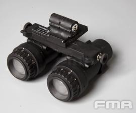DUMMY FMA AVS 9 PVS-9 Night Vision Device nachtkijker voor MICH FAST helm ZWART (zonder helm)