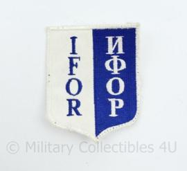 IFOR embleem - 8,5 x 6,5 cm - origineel