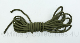 Nederlands leger touw - 6,6 mm dik en 6,6 meter lang - nieuw  - origineel