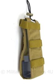 KL Profile Equipment koppeltas voor portofoon of radio - Coyote - 20 x 5 x 4 cm - gebruikt - origineel