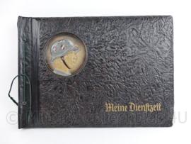 WO2 Duits Wehrmacht leeg foto album met soldaat - MEINE Dienstzeit - 33 x 23,5 x 2 cm - origineel